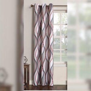 Intersect GeometricPrint Curtain